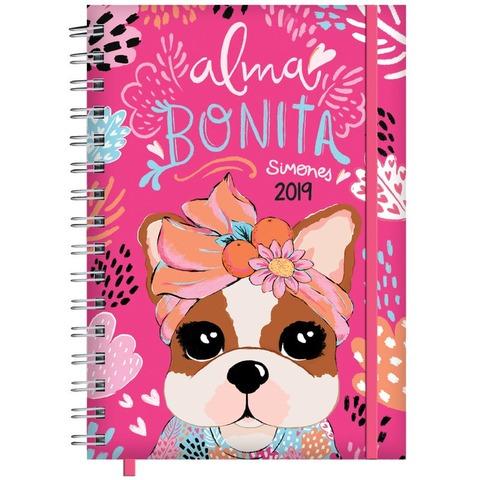 Agenda 2019 Mooving 15x21 Simones Alma Bonita