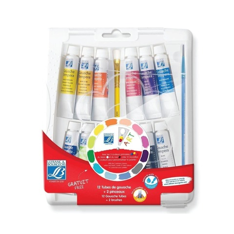 Tempera Set Lefrance x12