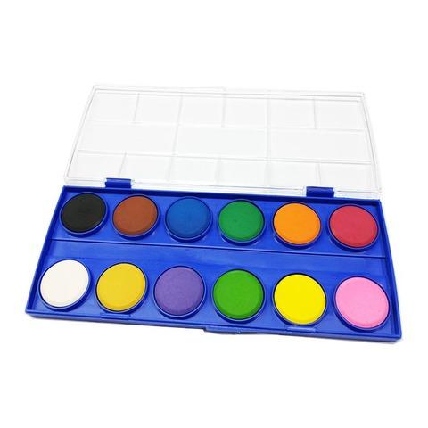 Acuarela Rebhan 12 Colores (28 Diam)