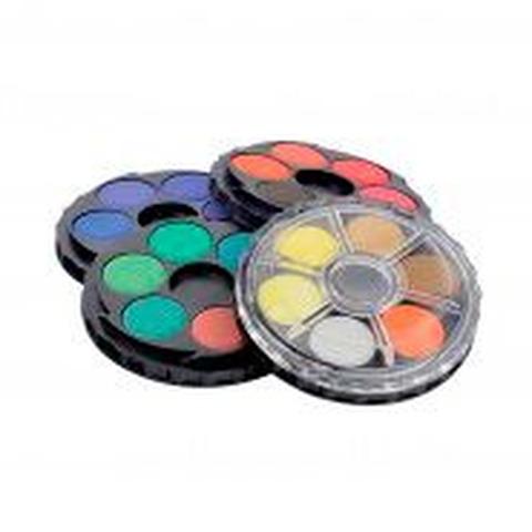 Acuarelas Kohinoor Circular x24 colores