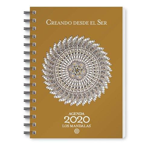 Agenda 2020 Granica Lic. Los Mandalas Semanal Nº8 Espiralada