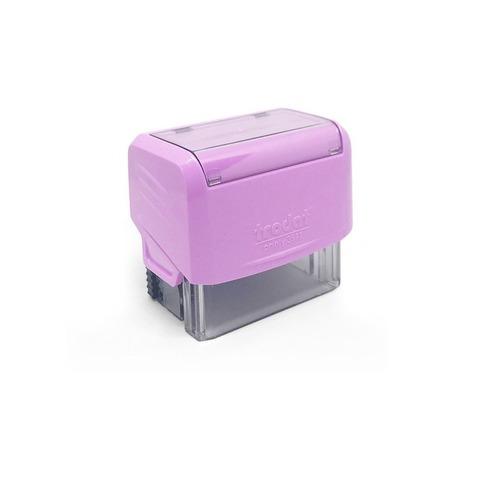 Sello 3 Líneas + Aparato Trodat 3911 Violeta pastel