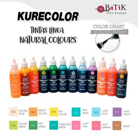 Kurecolor Tinta Línea: Natural Colours (colores naturales)
