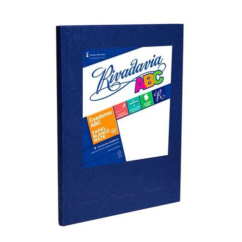 Cuaderno escolar Nº3 Rivadavia 19x23,5 ABC x98 Liso