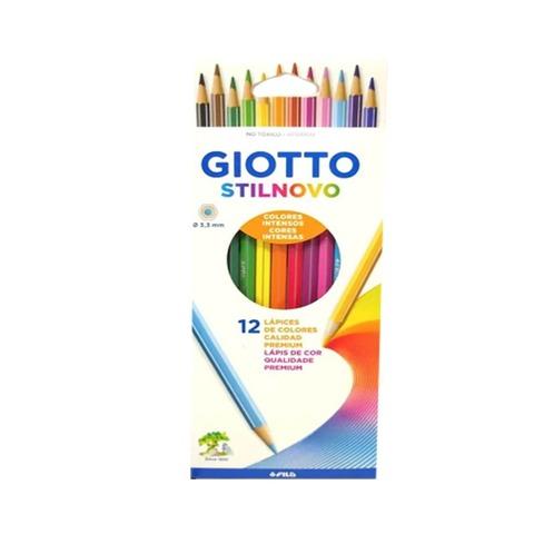 Lápiz Giotto Stilnovo 12 Colores