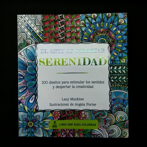 Libro para colorear Zen Serenidad