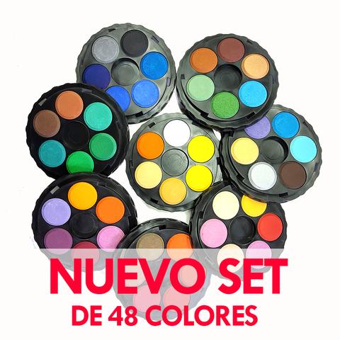 Acuarelas Kohinoor Circular x48 colores