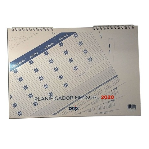 Calendario 2020 Onix 47x32cm