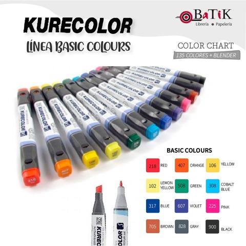 Marcador Kurecolor - Línea: Basic Colours (colores básicos)