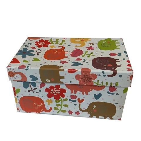 Caja de cartón plastificada Nº2 XL