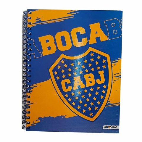 Cuaderno Universit. Mooving 120hs Boca Jrs. 1206111