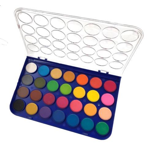Acuarelas Rebhan x28 colores (Pastillas 28mm.Diam.)