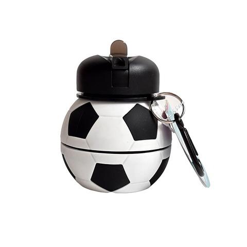 Botella Reutilizable Footy Silicona con formas Futbol