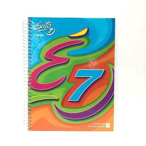 Cuaderno Escolar espiralado Exito Colegial 60Hjs