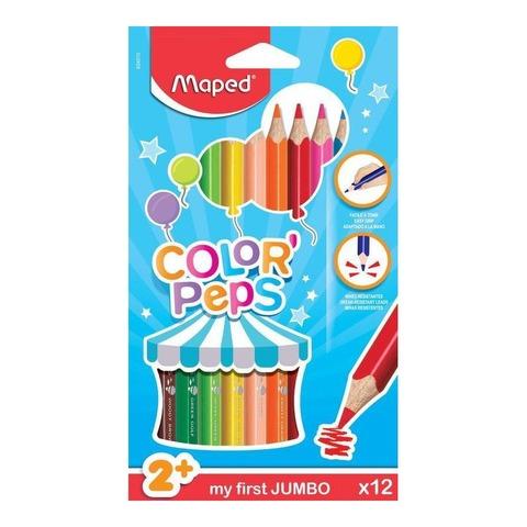 Lápiz Maped Colorpeps x12 Jumbo