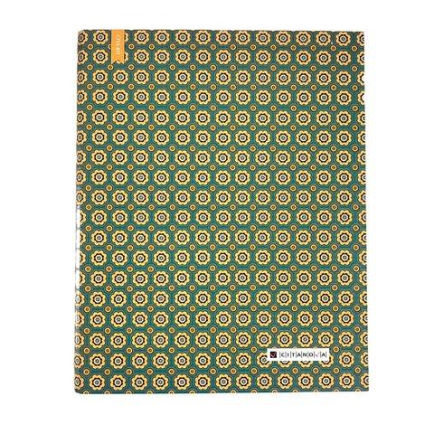 Carpeta Citanova A4 con Repuesto 120 Hojas. Magic Verde
