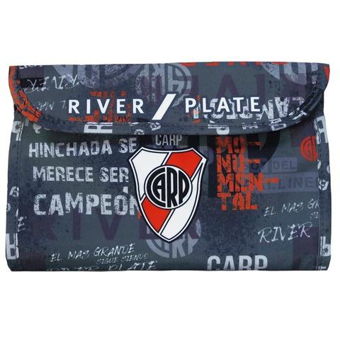 Cartuchera Canopla Desplegable Mooving River Plate