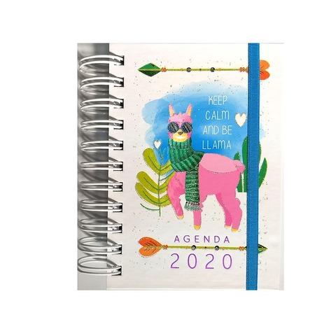 Agenda 2020 Onix 10x15 LLama 2 Diaria