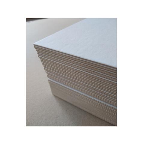 Cartón Montado Blanco Profesional 35x50 Cm (2mm aprox.)