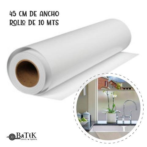 PVC Autoadhesivo Esmerilado 45 cm.de ancho X 10 Mts.