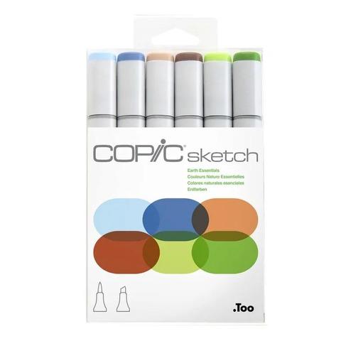 Copic Marcador Sketch x 6 Earth Essencials