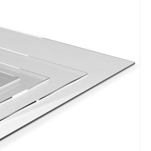Alto Impacto Transparente (PET) 60x 60 de 0.5mm