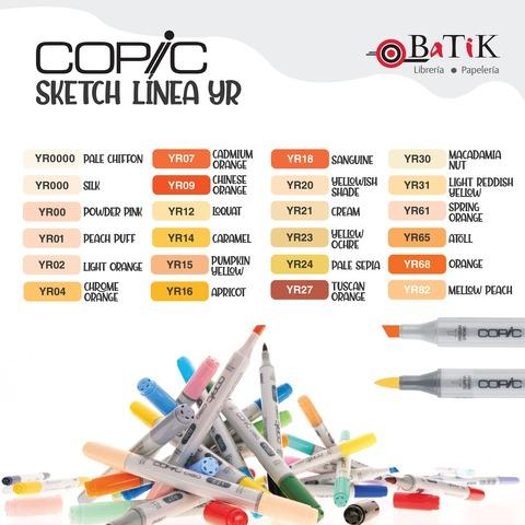 Copic Marcador Sketch  Línea YR