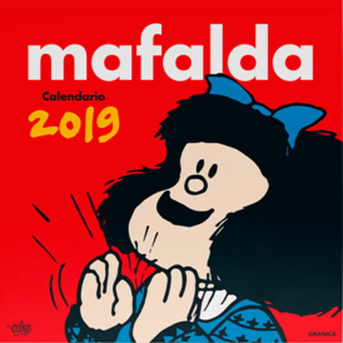 Calendario 2019 de pared Mafalda