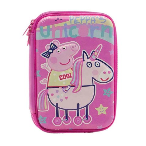 Cartuchera Cresko Eva Peppa´s unicornio