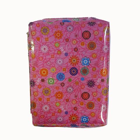 Cartuchera D&P Organizador serie 206 Rosa con flores