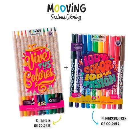 Oferta Mooving Coloring X2 Productos
