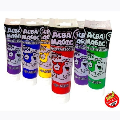 Tempera Alba Magic Pomo 170cc