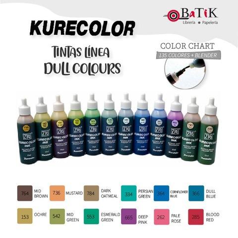 Kurecolor Tinta Línea: Dull Colours (colores apagados)