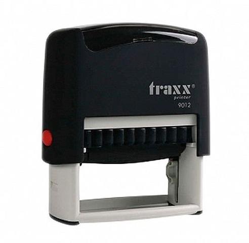 Sello 4 Líneas + Aparato Traxx 9012 Negro