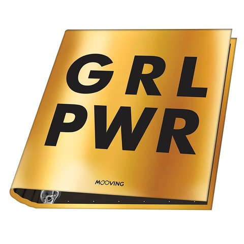 Carpeta Nº3 3x40 Mooving PWR GRL PWR