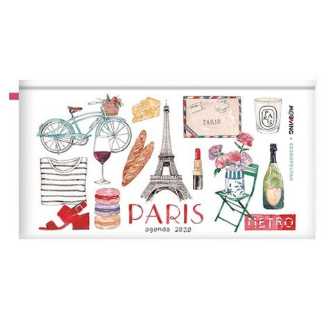 Agenda 2020 Mooving Pocket Cosmopolitan Paris