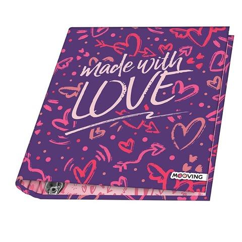 Carpeta Nº3 3x40 Mooving Love Made with love