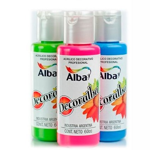 Acrilico Decorativo Alba Decoralba  60ml Común