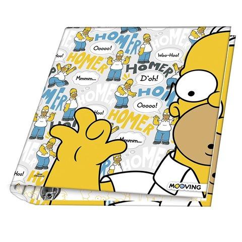 Carpeta Nº3 3x40 Mooving The Simpsons Homer