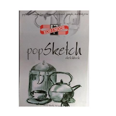 Block A4 Koh-i-noor Pop Sketch Hojas blancas
