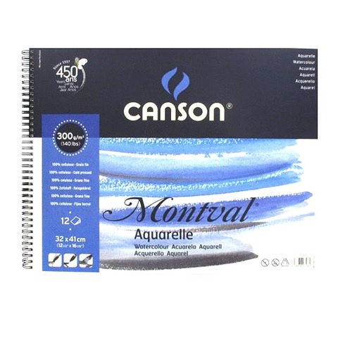 Block Canson Montval 300grs - 32 x 41 cm (Álbum)