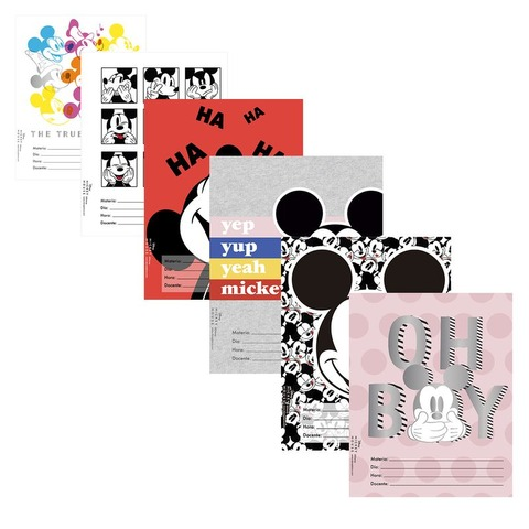 Separadores  N°3 x6 Mooving Mickey Mouse 1101121