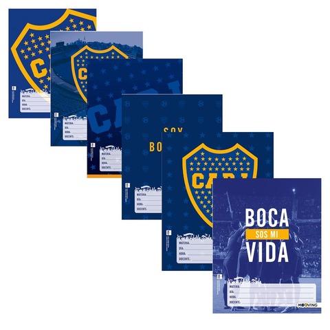 Separadores  N°3 x6 Mooving Fútbol: Boca Jrs. 1101111