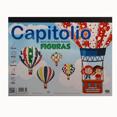 Block de dibujo Nº5 Figuras Capitolio 20Hojas