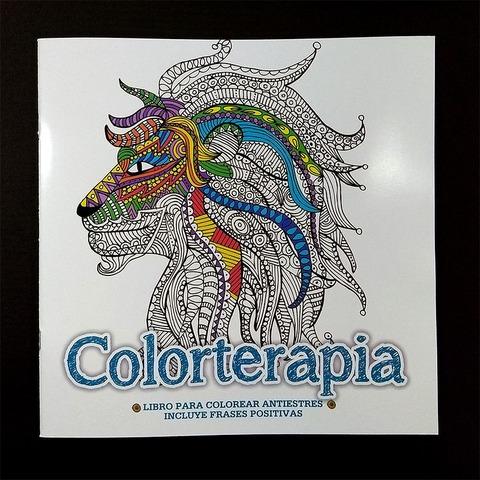Libro para Adultos Arte Terapia León