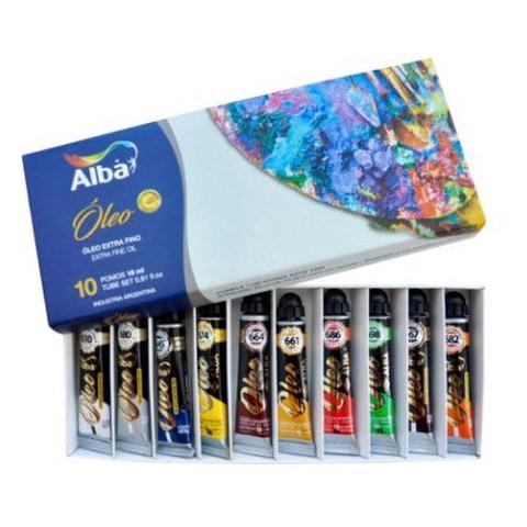 Oleo Alba x18ml Set x10 Surtidos Caja