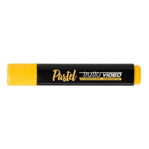 Resaltador Tratto Video Pastel Amarillo