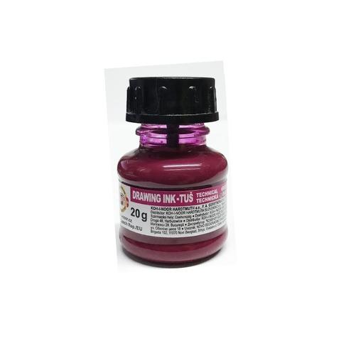 Tinta China Koh-i-noor 20gr Común color Magenta