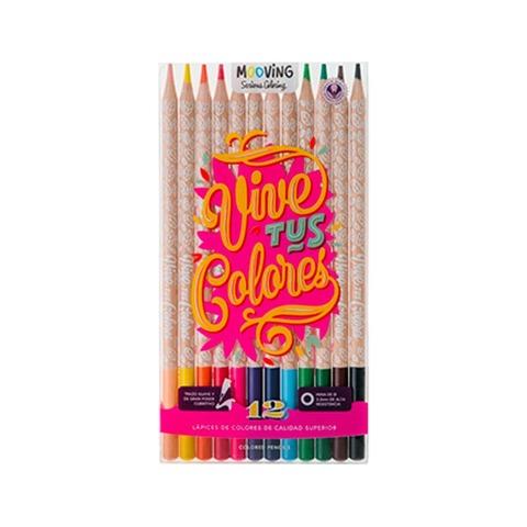 Mooving Coloring Lápiz Color x12