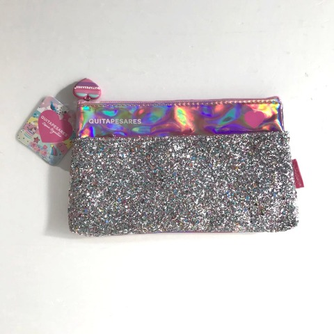 Canopla Sobre con bolsillo Glitter Quitapesares